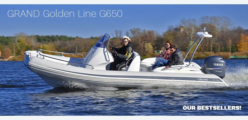 GRAND Golden Line G650 - bestselling RIB from GRAND